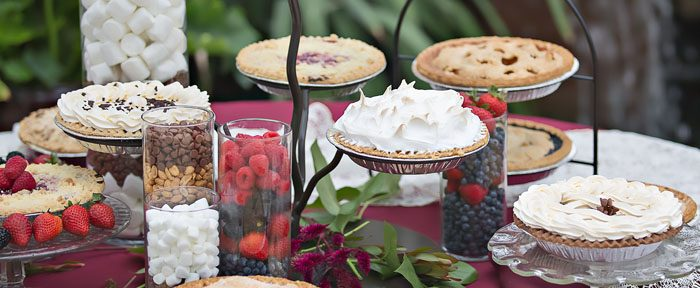 As Sweet As Pie – Serving Pie at your Wedding