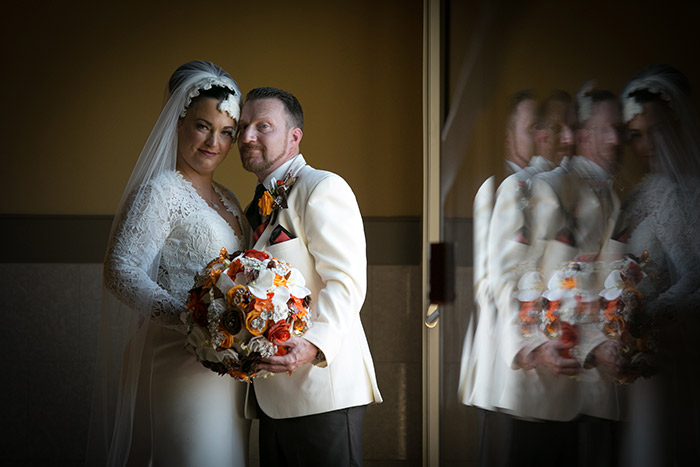 Cleveland Browns Themed Wedding, BCR Studios by Brad Photography, Today's Bride, orange and brown wedding decor, ohio real wedding