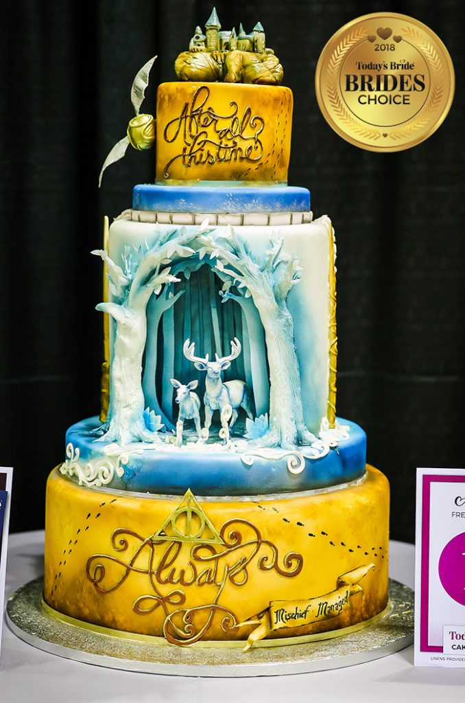 Akron 2018 Bridal Show Cake Gallery Todays Bride