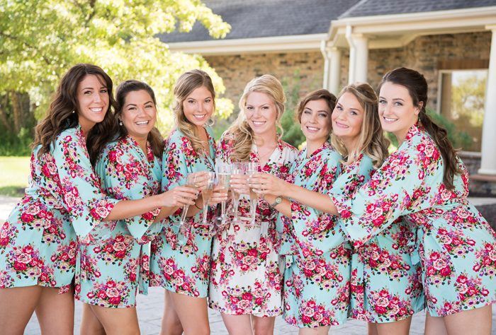 Bridesmaids | Klodt Photography | As seen on TodaysBride.com