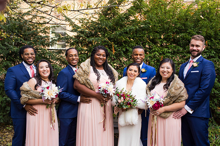Aileen & Bernard's Garden Wedding - columbus ohio real wedding inspiration as seen on TodaysBride.com. Photography by JazzyMae Photography. Garden wedding ceremony