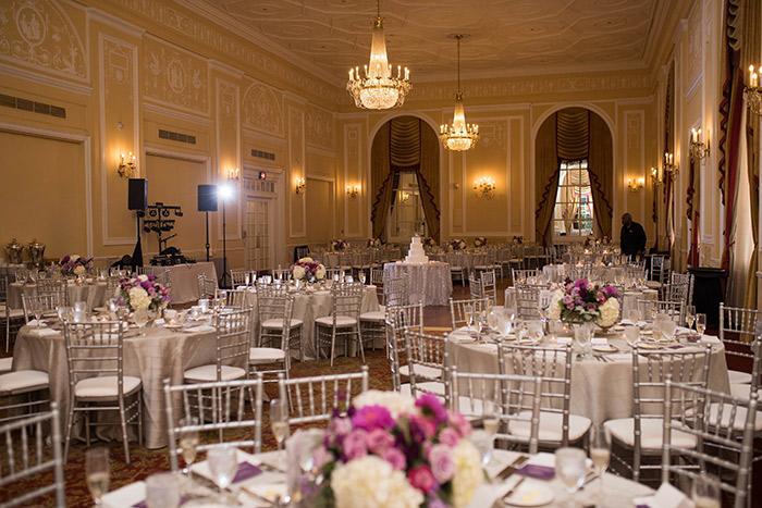Adrienne & Joseph's Perfect Purple Wedding, purple wedding inspiration, cleveland ohio wedding, photos by JazzyMae Photography on TodaysBride.com