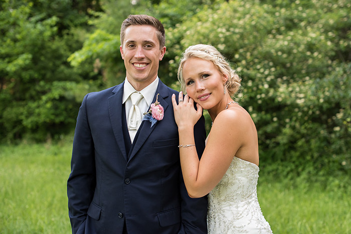 Katie & Josh's Pastel Wedding, Real Ohio wedding photographed by Sabrina Hall Photography. Pastel wedding color inspiration