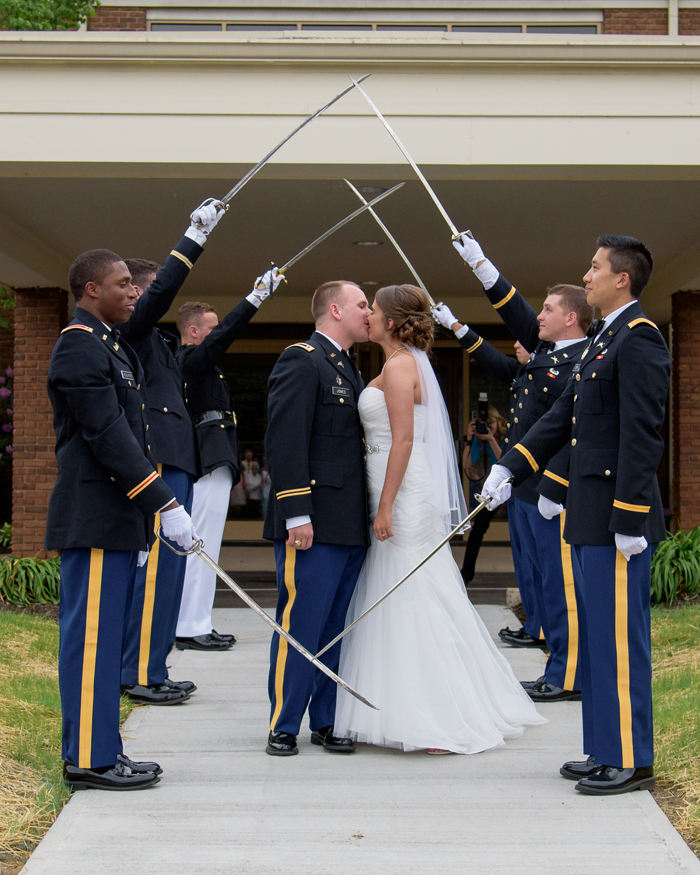 Military Wedding |Sabrina Hall Photography | As seen on TodaysBride.com