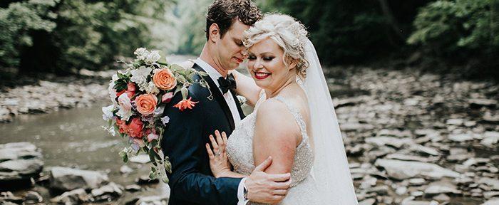 Kristin & Taylor's Modern Art Deco Matrimony