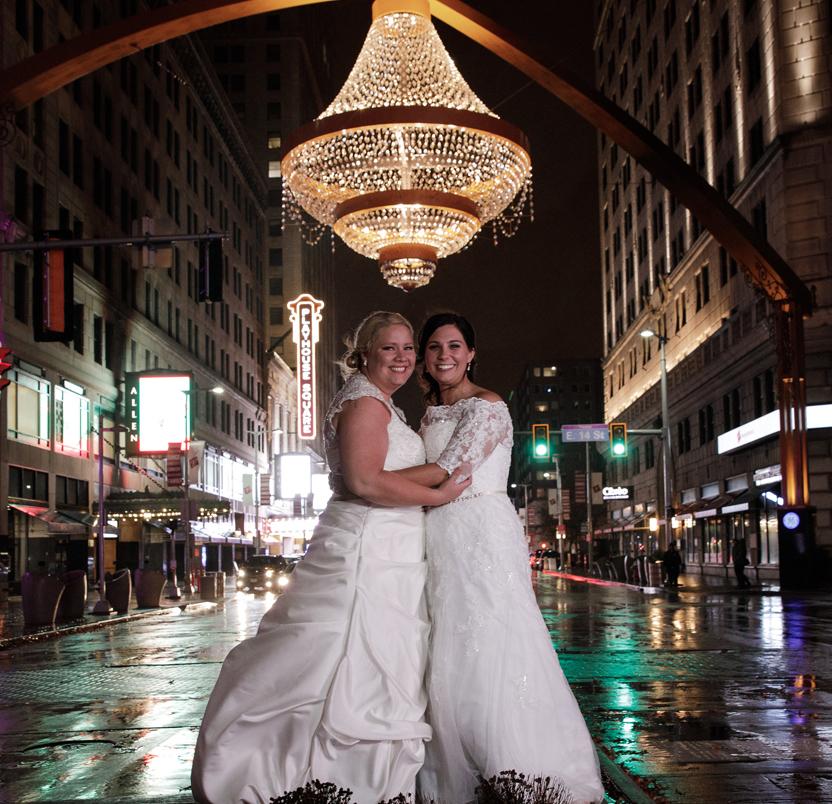 Erica & Kim's Cleveland Love Story