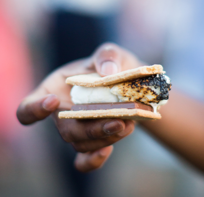 Leah & Andy's S'more Love Real Wedding