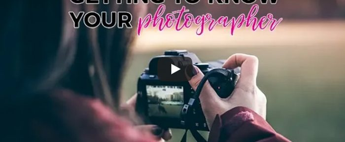 Video: Getting to Know your Wedding Photographer