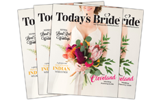 Cleveland Today's Bride Magazine | As seen on TodaysBride.com