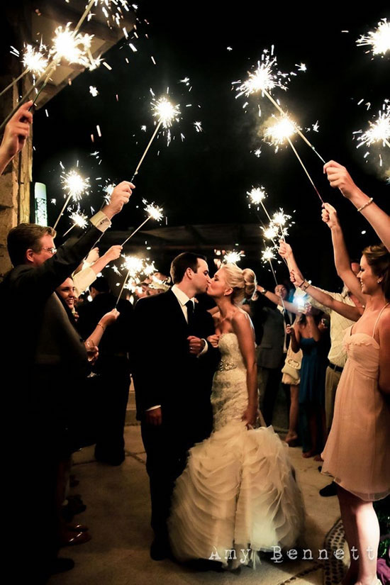 The Grand Exit: Creative Ways to Send Newlyweds off with Style