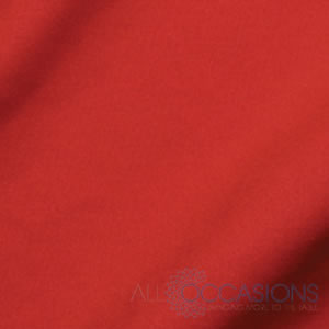 Red Solid Linen from All Occasions Party Rental