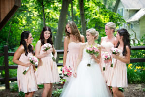 Bridesmaids' Dresses| Justin Ketchem Photography| As seen on TodaysBride.com