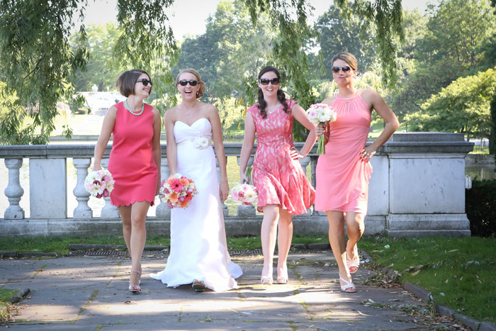 Bridesmaid's Dresses| Carol Malick Photography| As seen on TodaysBride.com