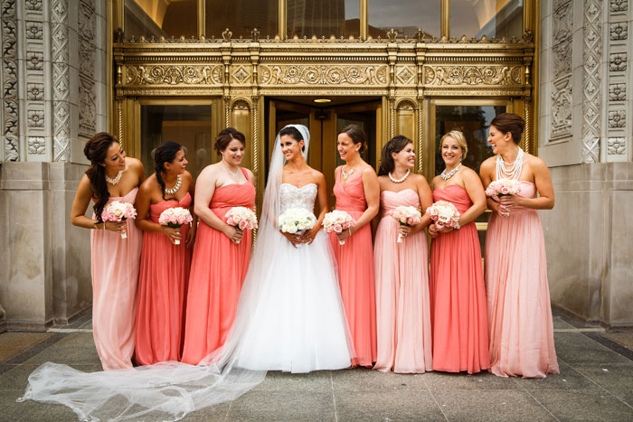 Bridemaids' Dresses| Genevieve Nisly Photography| As seen on TodaysBride.com