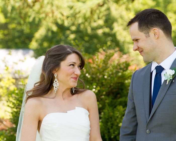 Megan & Dave - A Lovingly Handmade Wedding by OH Snap! Photography