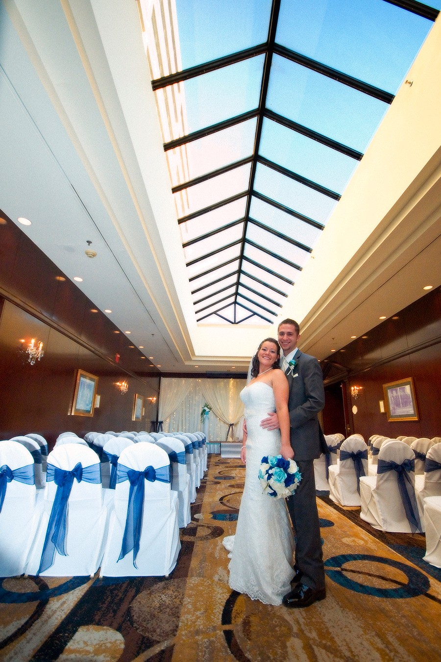 Amy & Bennett - A New Year's Eve Bash by RealBridals.com