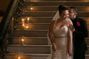 Jessica & Willis - A Glam Cleveland Evening Real Wedding by Spencer Photography, as seen on Todaysbride.com