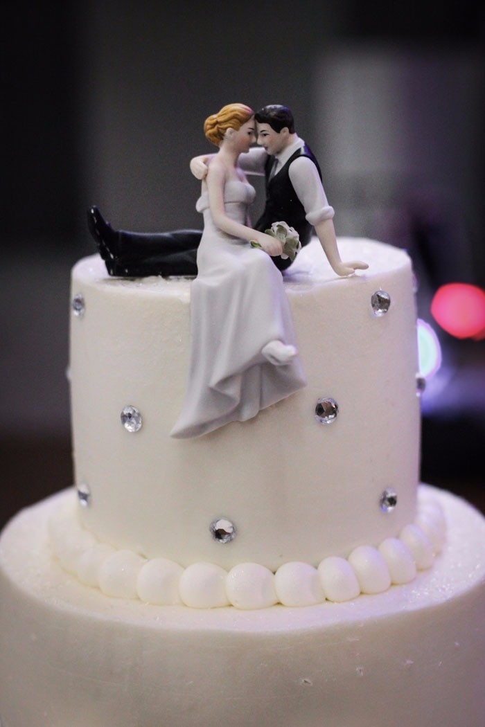 Jaime & John - A St. Michael's Woodside Wedding by Malick Photo, as seen on Todaysbride.com