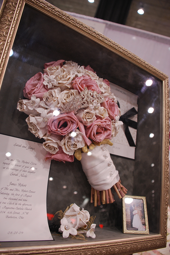 Preserving your Petals | Timeless Moments Flower Preservation Shadow Box | As seen on TodaysBride.com