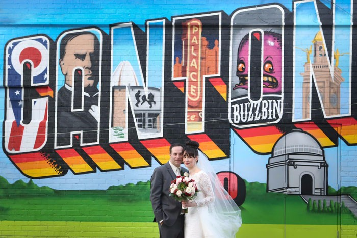 Allison & Eric - An Art Deco Wedding   Malick Photo   Today's Bride Real Wedding, Canton Ohio Real Wedding