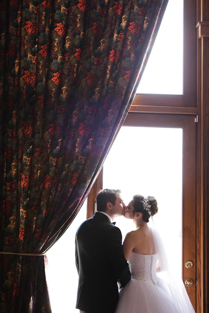 Julie & Yevhen - A Beautiful Blush Wedding | Malick Photo | As seen on Todaysbride.com