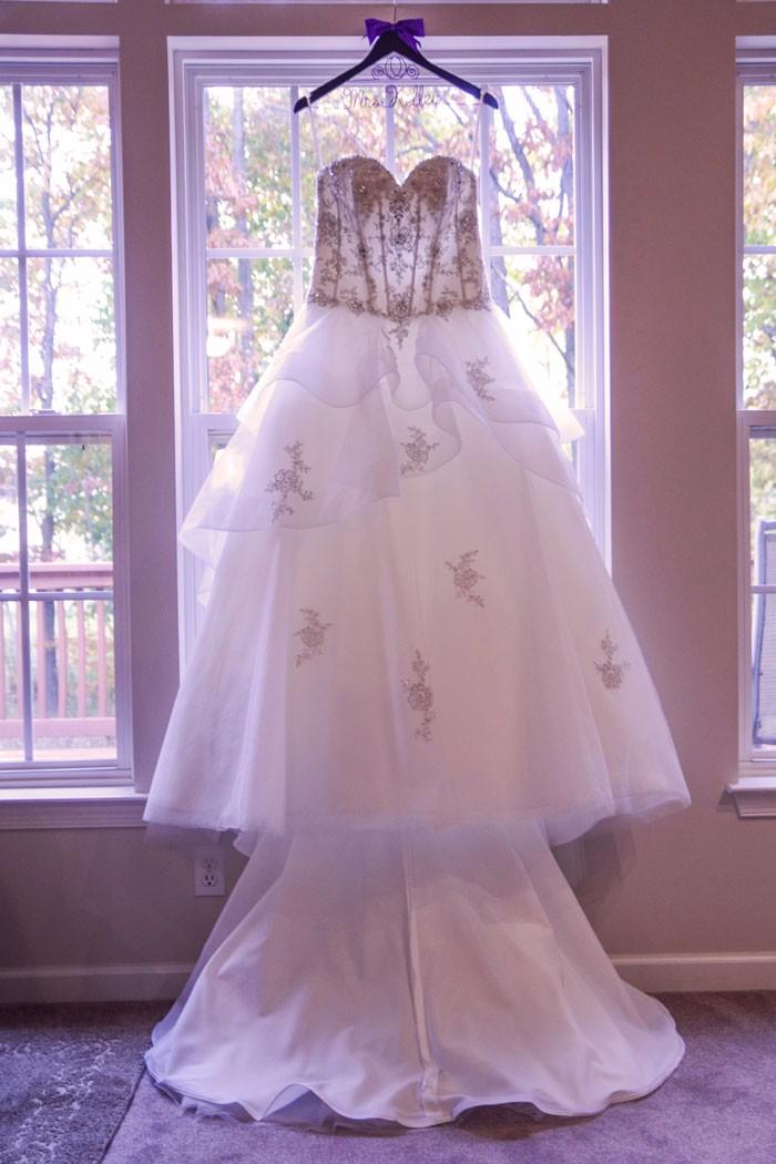 Terri & Randy - A Fairy Tale Inspired Wedding | Allen&Karen Photography | Purple and Silver Real wedding as seen on Todaysbride.com