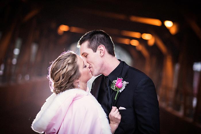 Kristin & Eric - Romantically Rustic | Black Dog Photo Co | As seen on Todaysbride.com | wedding photography, blush wedding ideas, winter wedding ideas