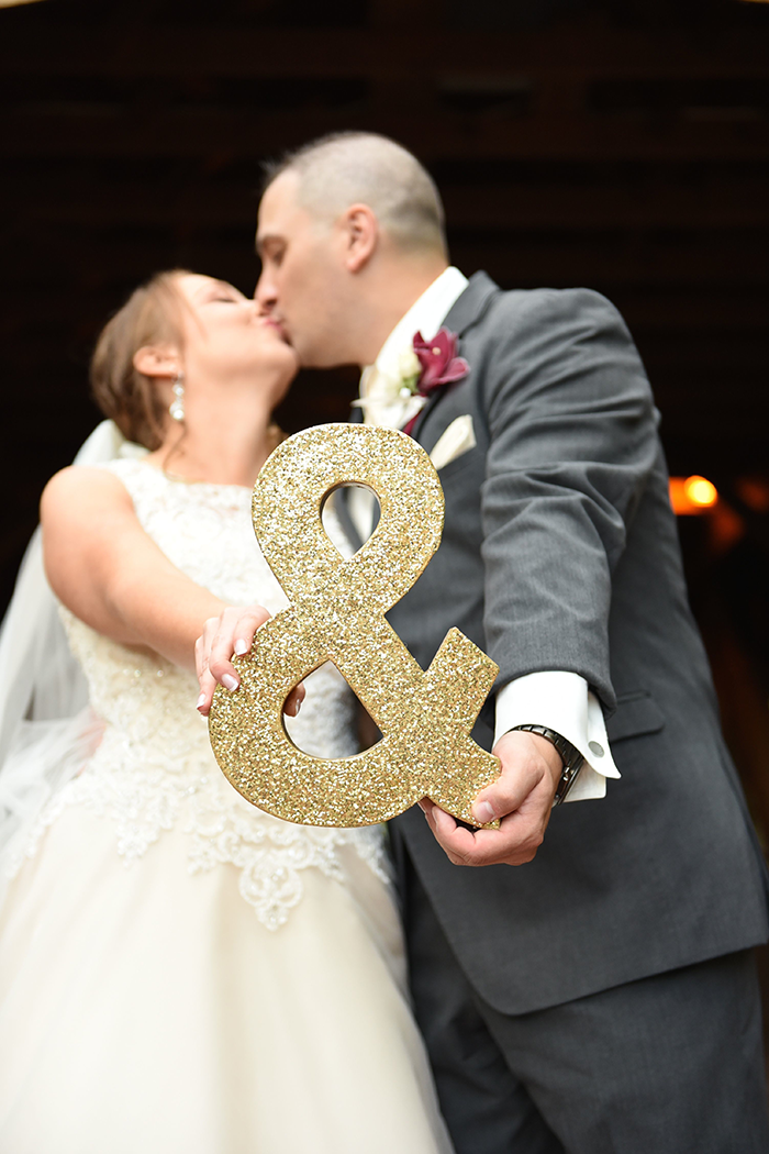 Rebecca & Justin - Burgundy Bliss | Love is All You Need Photography | As seen on TodaysBride.com | Wedding Photography, Fall Wedding, cute wedding photo ideas