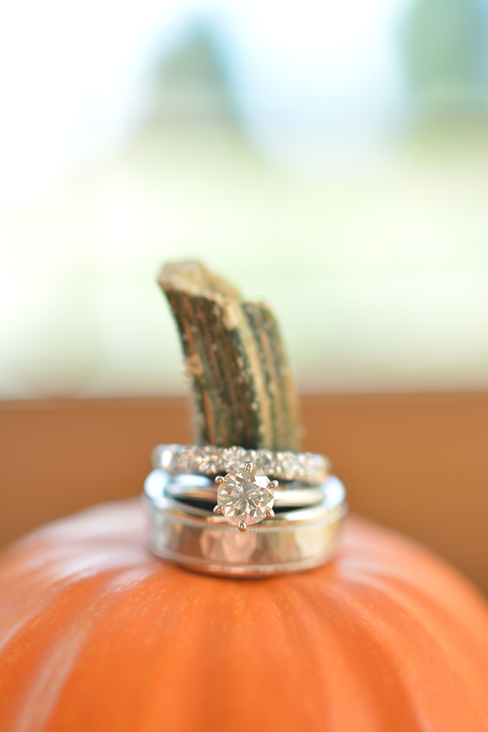 Rebecca & Justin - Burgundy Bliss | Love is All You Need Photography | As seen on TodaysBride.com | Wedding Photography, Fall Wedding, pumpkin wedding decor