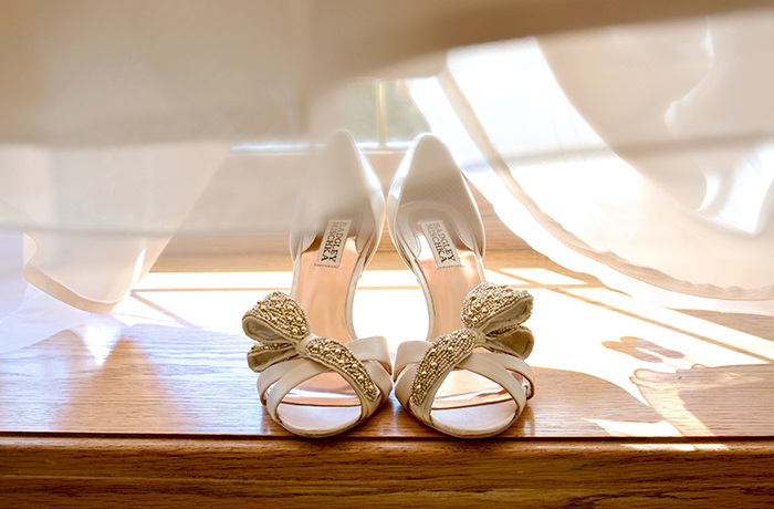 Rebecca & Justin - Burgundy Bliss | Love is All You Need Photography | As seen on TodaysBride.com| Wedding Photography, bridal shoes