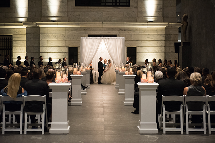 Shannon & Andrew - A Modern Fairy Tale | Photos by New Image Photography | As seen on TodaysBride.com | Ceremony decor, wedding decor