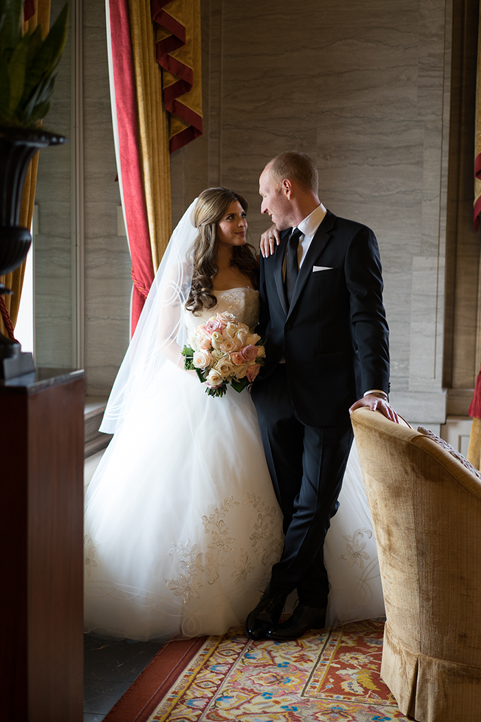 Shannon & Andrew - A Modern Fairy Tale | Photos by New Image Photography | As seen on TodaysBride.com | Wedding photography, wedding dress, ball gown wedding dress
