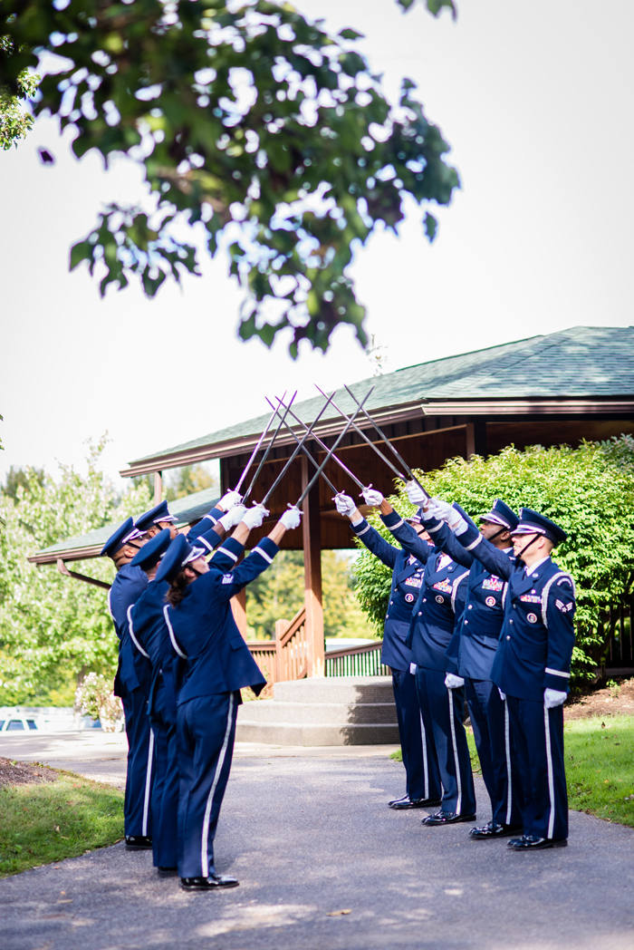 Military Wedding | Orchard Photography | As Seen on TodaysBride.com