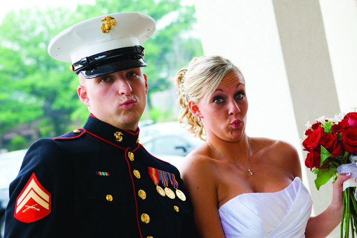 Military Wedding | RealBridals.com | As Seen on TodaysBride.com