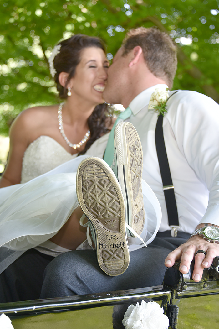 Staci & Zachary - Walsh University Wedding | A Crystal Clear Sound, Video, Photo and Photo Booth| Real wedding, ohio wedding, wedding photography, wedding shoes, bridal converse