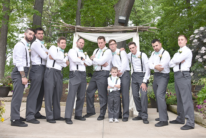 Staci & Zachary - Walsh University Wedding | A Crystal Clear Sound, Video, Photo and Photo Booth| Real wedding, ohio wedding, wedding photography, groomsmen, suspenders and bow ties
