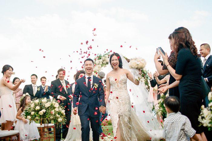 Wedding Exit | AXIOO BALI | As seen on TodaysBride.com
