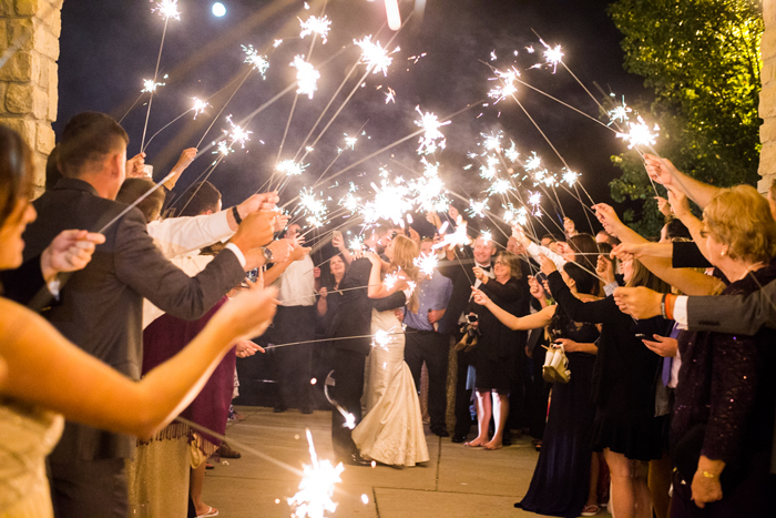 Wedding Exit | Black Dog Photo Co. | As seen on TodaysBride.com