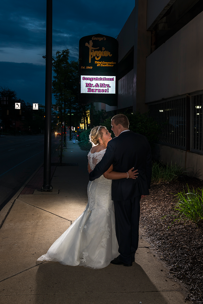 Christy & Aaron - Simply Sweet | Photography by Dom Chiera Photography | As seen on Todaysbride.com, Navy and blush wedding, wedding photography, tangier, akron ohio wedding
