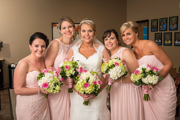 Christy & Aaron - Simply Sweet | Photography by Dom Chiera Photography | As seen on Todaysbride.com, Navy and blush wedding, wedding photography, blush bridesmaid dresses, bridal party bouquets