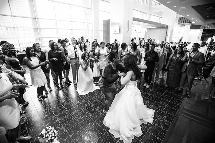 "Camille & Tare - Browns Stadium ""I Do's"" 
