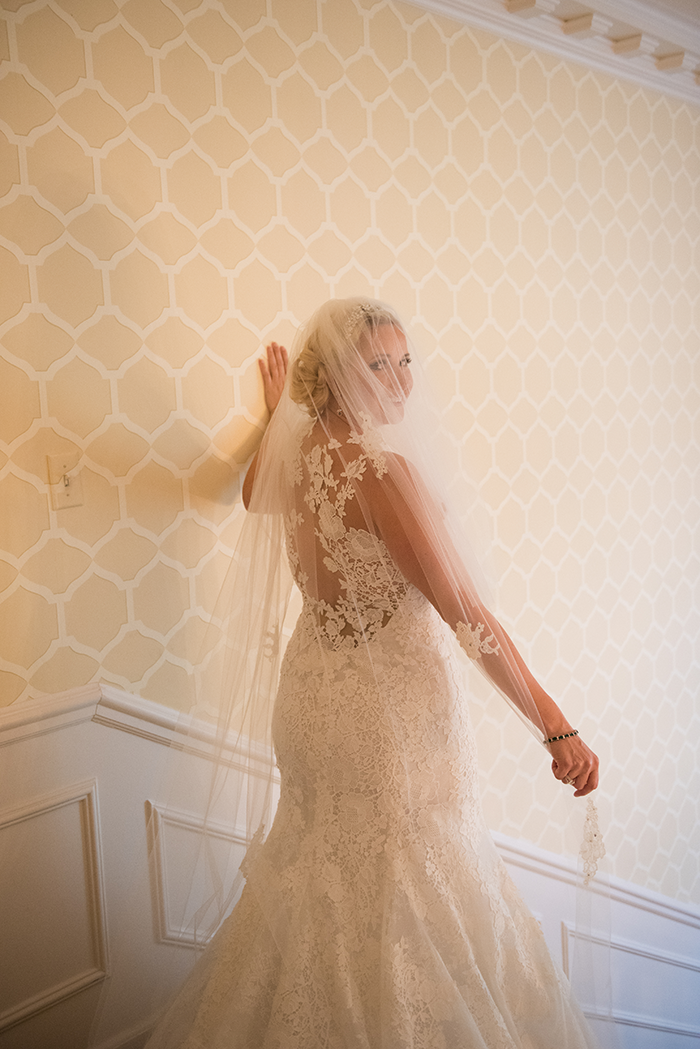 Nicole & Jan-Oliver - Elegant Emerald Wedding | New Image Photography | As seen on Todaysbride.com | real ohio wedding, emerald and gold wedding colors, elegant wedding, wedding photography, bride, wedding dress, bridal gown, illusion back, cathedral veil