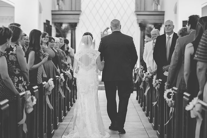 Jessica & Nathan - Fall-ing Head over Heels | three & Eight Photography | Real Ohio Wedding as seen on TodaysBride.com | fall wedding, fall wedding decor, wedding photography, sunflower wedding, purple and sunflower wedding, wedding ceremony