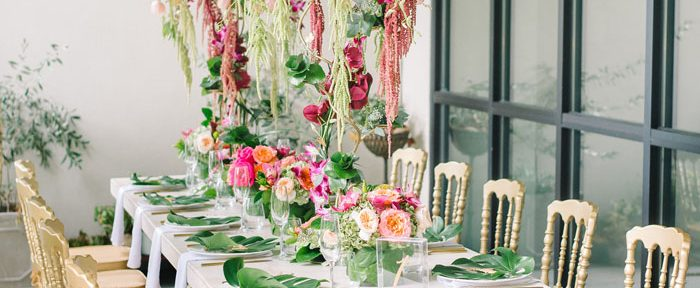 Setting your Reception Tables