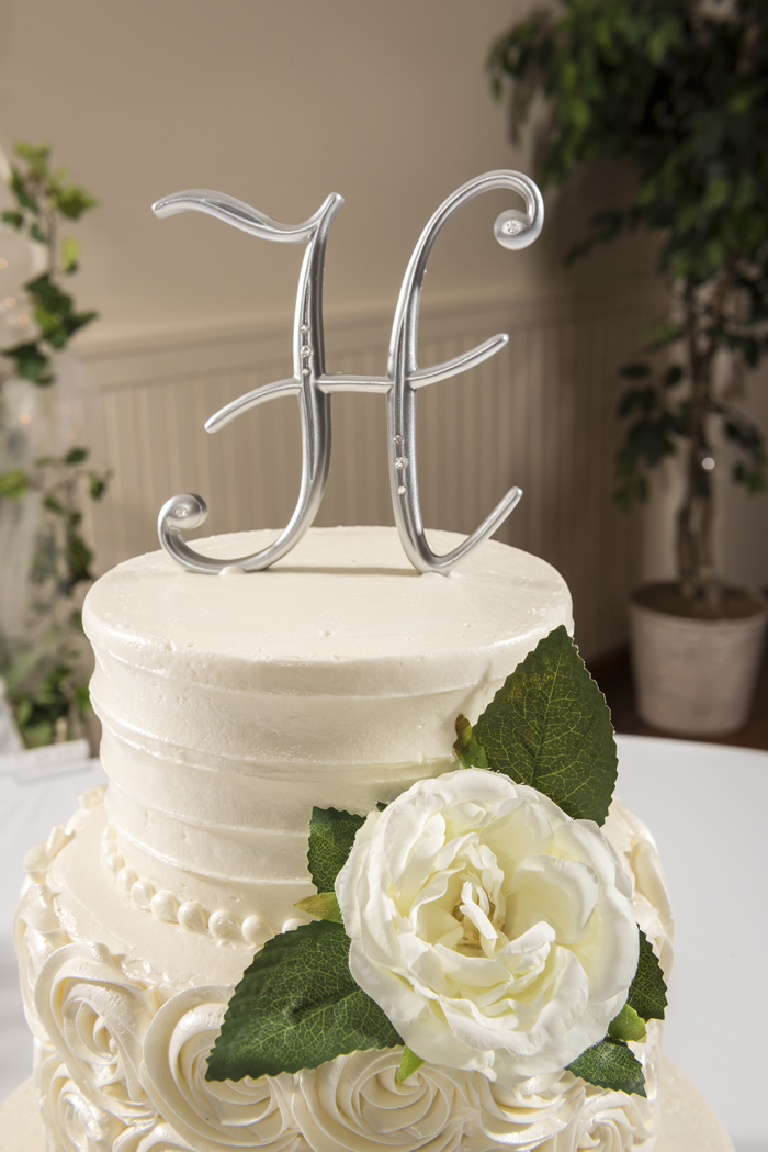 Wedding Cake Topper | Dom Chiera Photography | As Seen on TodaysBride.com