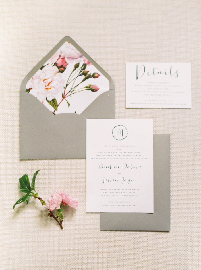 Envelope Liners | Perry Vaile Photo | As seen on TodaysBride.com