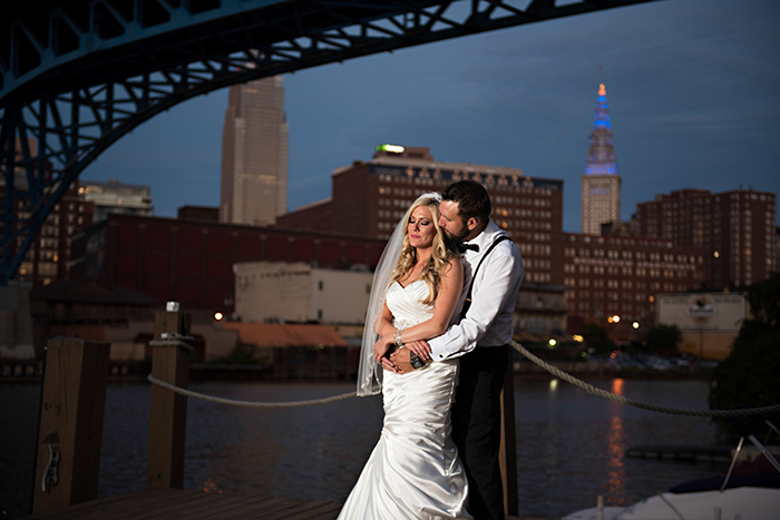 Nicki & Michael - A Wedding On The Flats | Justin Ketchem Photography | Real Ohio Wedding as seen on Todaysbride.com | Cleveland real wedding, lavender and teal wedding, wedding photography, cleveland wedding ideas,