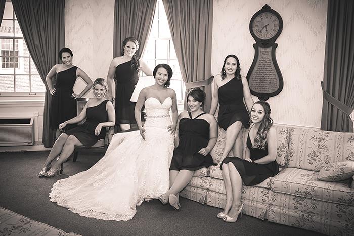 Fransiska & Craig - Classic in Cleveland | Kay Photo & Design | Real Ohio Wedding as seen on TodaysBride.com, cleveland wedding, city wedding, navy and pink wedding, wedding photography