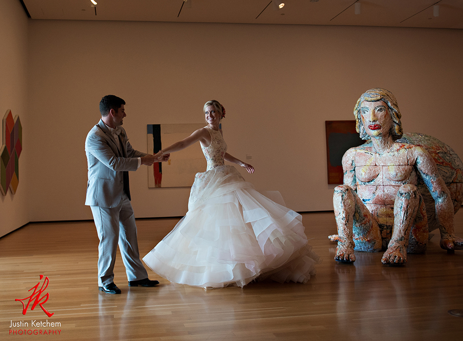 Akron Art Museum | As seen on TodaysBride.com