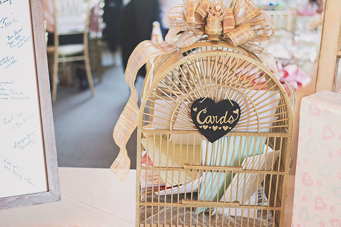 Amanda & Shawn - The Sweetest Day | Oh Snap! Photography | Real Wedding As seen on TodaysBride.com | Real ohio wedding, blush and gold wedding, wedding photography, blush and gold wedding color pallet wedding cards sign wedding cards bird cage